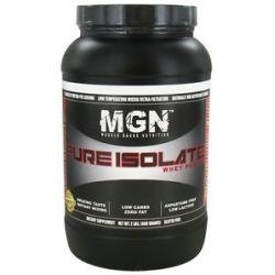Muscle Gauge Nutrition Pure Isolate Whey Protein Cinnamon Bun 2 Lbs
