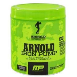 Muscle Pharm Arnold Schwarzenegger Series Arnold Iron Pump Raspberry Lemonade