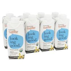 Cal Naturale Svelte Vegan Organic Protein Shake 8 x 11 oz RTD French Vanilla