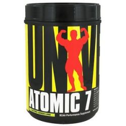 Universal Nutrition Atomic 7 BCAA Performance 'Lectric Lemon Lime 76 Servings