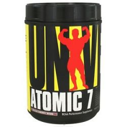 Universal Nutrition Atomic 7 BCAA Performance Black Cherry Bomb 78 Servings