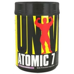 Universal Nutrition Atomic 7 BCAA Performance Groovy Grape 73 Servings 1 KG