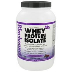Bluebonnet Nutrition Whey Protein Isolate Natural Mixed Berry Flavor 2 Lbs