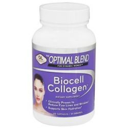 Olympian Labs Optimal Blend for Dynamic Women Biocell Collagen 60 Capsules