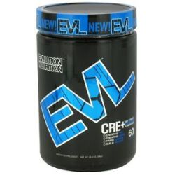 EVL Nutrition Cre Maximum Strength Creatine 60 Servings Unflavored 10 8 Oz