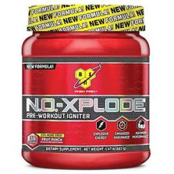 BSN N O Xplode Pre Workout Igniter Bonus Size Fruit Punch 36 Servings 1 47