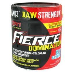 San Nutrition Fierce Domination Pre Workout Intra Cellular Plasma Expander