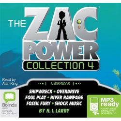 Zac Power Audio Book (Audio CD) by H I Larry, 9781486200498. Buy the audio book online.
