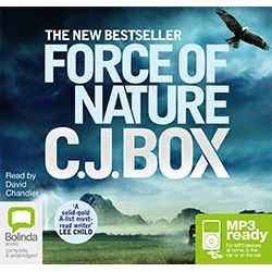 Force Of Nature (MP3), Joe Pickett #12 Audio Book (MP3 CD) by C J Box, 9781486207619. Buy the audio book online.