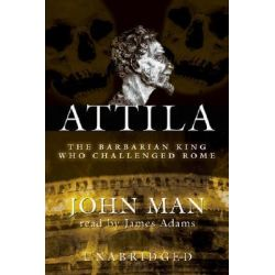 Attila, The Barbarian King Who Challenged Rome Audio Book (Audio CD) by John Man, 9780786171415. Buy the audio book online.