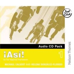 !Asi! 1- Audio CD Pack, Audio CD Pack Stage 1 Audio Book (Audio CD) by Mike Calvert, 9780748778133. Buy the audio book online.