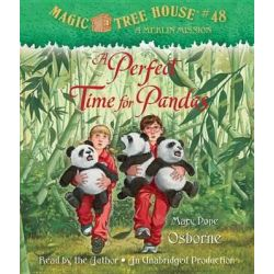 A Perfect Time for Pandas, A Perfect Time for Pandas Audio Book (Audio CD) by Mary Pope Osborne, 9780307746665. Buy the audio book online.