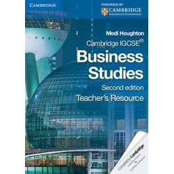 Cambridge IGCSE Business Studies Teacher's Resource CD-ROM, Cambridge International Examinations Audio Book (CD-ROM) by Medi Houghton, 9780521122122. Buy the audio book online.