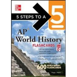 5 Steps to a 5 AP World History Flashcards for Your iPod with MP3 Disk, 5 Steps to a 5 (Flashcards) Audio Book (MP3 CD) by Peggy Martin, 9780071741552. Buy the audio book online.