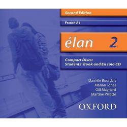 Elan 2, A2 Audio CD Audio Book (Audio CD) by Daniele Bourdais, 9780199153367. Buy the audio book online.