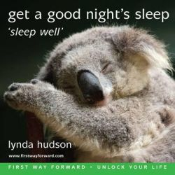 Get a Good Night's Sleep, Sleep Well Audio Book (Audio CD) by Lynda Hudson, 9781905557363. Buy the audio book online.