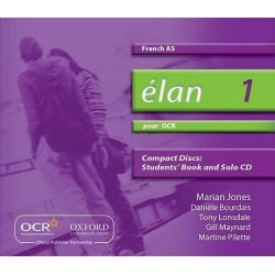 Elan, 1: Pour OCR AS Audio CDs Audio Book (Audio CD) by Daniele Bourdais, 9780199153350. Buy the audio book online.