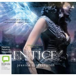 Entice, The Violet Eden chapters #2 Audio Book (Audio CD) by Jessica Shirvington, 9781743119167. Buy the audio book online.