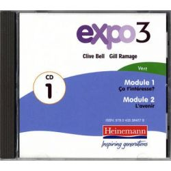 Expo 3 Vert Audio CDs (Pack of Three), Expo 11-14 Audio Book (Audio CD) by Expo, 9780435384562. Buy the audio book online.