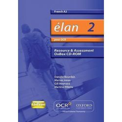 Elan 2, Pour OCR A2 Resource & Assessment Oxbox CD-ROM Audio Book (CD-ROM) by Daniele Bourdais, 9780199154159. Buy the audio book online.