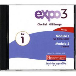 Expo 3 Rouge Audio CDs (Pack of Three), Expo 11-14 Audio Book (Audio CD) by Expo 3, 9780435384487. Buy the audio book online.