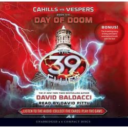 Day of Doom, Cahills vs. Vespers Book 6: Day of Doom - Audio Library Edition Audio Book (Audio CD) by David Baldacci, 9780545497688. Buy the audio book online.