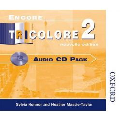 Encore Tricolore Nouvelle 2 Audio CD Pack, Audio CD Pack Stage 2 Audio Book (Audio CD) by Sylvia Honnor, 9780174403210. Buy the audio book online.