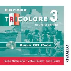 Encore Tricolore Nouvelle 3 Audio CD Pack, Audio CD Pack Stage 3 Audio Book (Audio CD) by Sylvia Honnor, 9780174403401. Buy the audio book online.