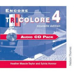 Encore Tricolore Nouvelle 4 Audio CD Pack, Audio CD Pack Stage 4 Audio Book (Audio CD) by Sylvia Honnor, 9780174403470. Buy the audio book online.