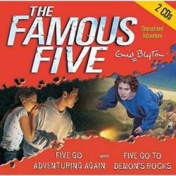 Five Go Adventuring Again & Five Go to Demon's Rocks, AND Five Go to Demon's Rocks Audio Book (Audio CD) by Enid Blyton, 9781844562633. Buy the audio book online.