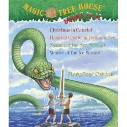 Magic Tree House Collection Books 29-32, Christmas in Camelot/Haunted Castle on Hallow's Eve/Summer of the Sea Serpent/W