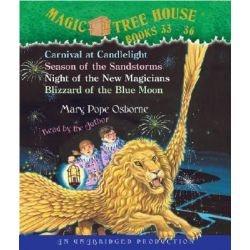 Magic Tree House: Books 33-36, #33 Carnival at Candlelight; #34 Season of the Sandstorms; #35 Night of the New Magicians