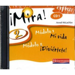 Mira Express 2 Audio CDs Pack of 3, Mira! Express (for Year 8 Starters) Audio Book (Audio CD) by Anneli McLachlan, 9780435392024. Buy the audio book online.
