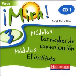 Mira 3 Verde, Mira! (For Year 7 Starters) Audio Book (Audio CD) by Pearson Education Australia, 9780435391911. Buy the audio book online.