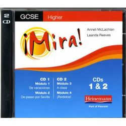 Mira AQA/OCR GCSE Spanish Higher Audio CD Pack, Mira: AQA GCSE Audio Book (Audio CD) by Leanda Reeves, 9780435396800. Buy the audio book online.