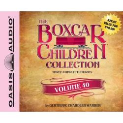 The Boxcar Children Collection, Volume 40, The Spy Game/The Dog-Gone Mystery/The Vampire Mystery Audio Book (Audio CD) by Gertrude Chandler Warner, 9781609817398. Buy the audio book online