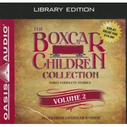 The Boxcar Children Collection, Volume 2, Mystery Ranch, Mike's Mystery, Blue Bay Mystery Audio Book (Audio CD) by Gertrude Chandler Warner, 9781609817206. Buy the audio book online.