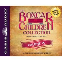 The Boxcar Children Collection Volume 18 (Library Edition), The Mystery of the Lost Mine, the Guide Dog Mystery, the Hur