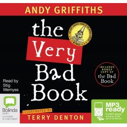 The Very Bad Book & The Bad Book (MP3) Audio Book (MP3 CD) by Andy Griffiths, 9781486259342. Buy the audio book online.