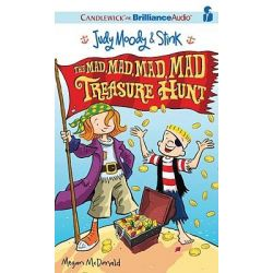 The Mad, Mad, Mad, Mad Treasure Hunt, Judy Moody & Stink (Audio) Audio Book (Audio CD) by Megan McDonald, 9781441889348. Buy the audio book online.