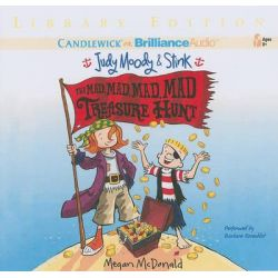 The Mad, Mad, Mad, Mad Treasure Hunt, Judy Moody & Stink (Audio) Audio Book (Audio CD) by Megan McDonald, 9781441889355. Buy the audio book online.