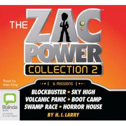Zac Power Audio Book (Audio CD) by H I Larry, 9781743100752. Buy the audio book online.
