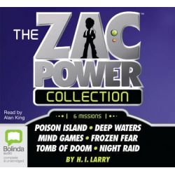Zac Power Collection Audio Book (Audio CD) by H I Larry, 9781742674131. Buy the audio book online.