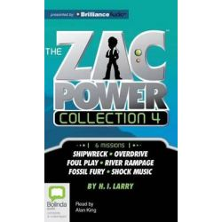 Zac Power Collection #4, Zac Power Audio Book (Audio CD) by H I Larry, 9781486213368. Buy the audio book online.