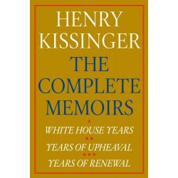 Booktopia eBooks - Henry Kissinger The Complete Memoirs eBook Boxed Set, White House Years; Years of Upheaval; Years of Renewal by Henry Kissinger. Download the eBook, 9781471136795.