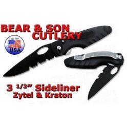 "Bear Son 3 5"" Zytel Kraton Sidliner Serrated 7404TSR"