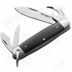 "Boker Magnum Classic Pocket Steel Rosewood Handles 440 Steel 6 25"" 01MB334 New"