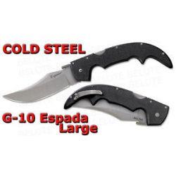 """Cold Steel G 10 Espada Large Folder 5 5"""" Blade 62NGL"""