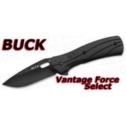 Buck Vantage Force Select Folder Plain Edge 845BKS New