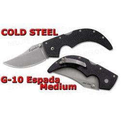 "Cold Steel G 10 Espada Medium Folder 3 5"" Blade 62NGM"